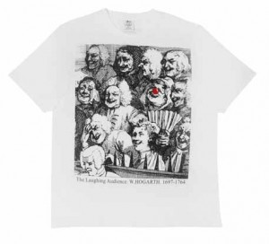 The Laughing Audience t-shirt